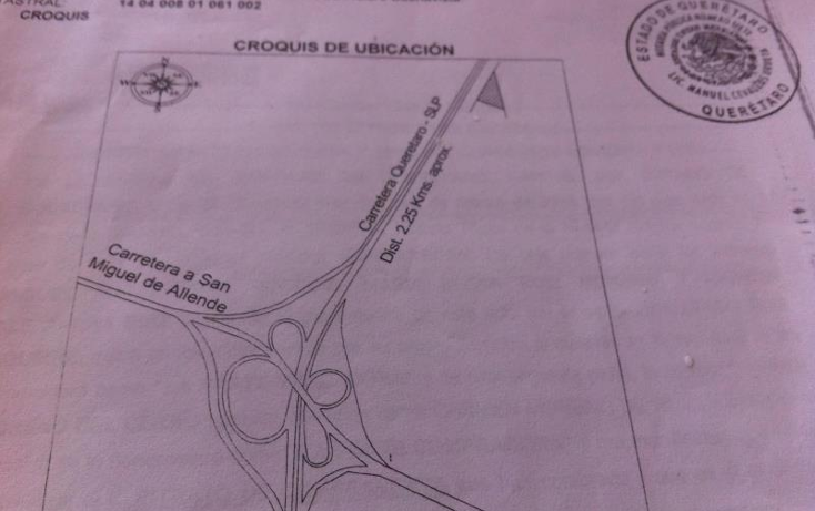 Foto de terreno habitacional en venta en  0, buenavista, querétaro, querétaro, 970945 No. 02