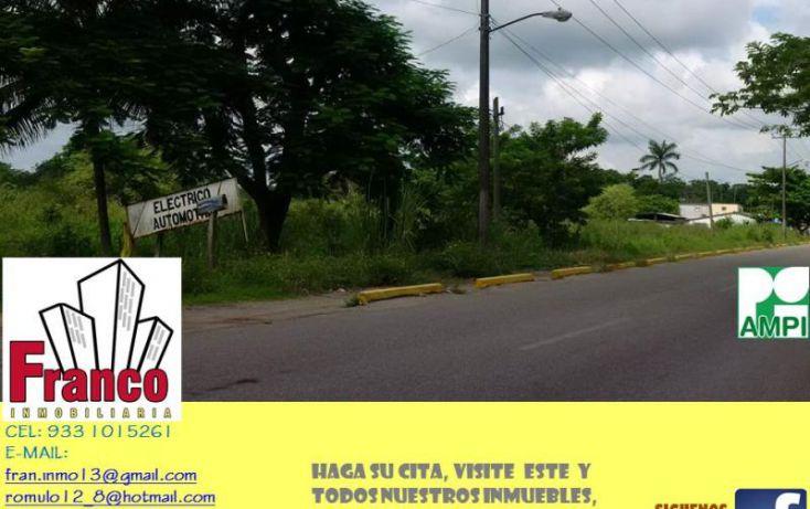 Foto de terreno comercial en venta en carretera rió seco, la chonita, cunduacán, tabasco, 1535136 no 03