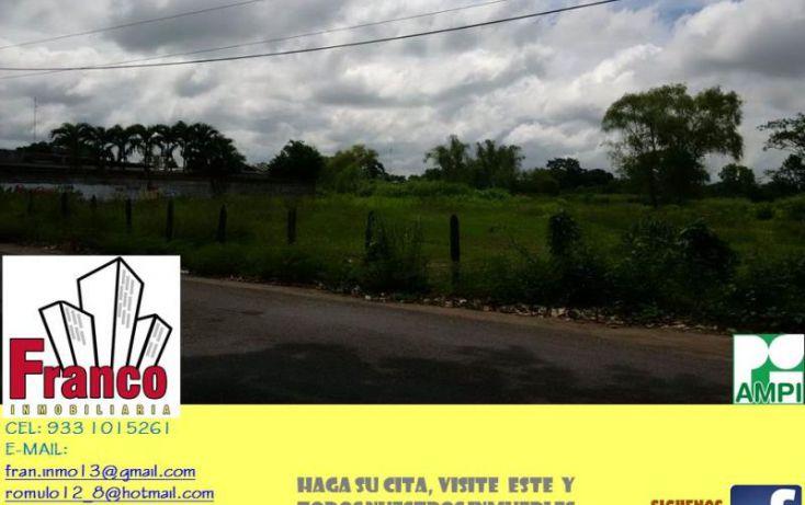 Foto de terreno comercial en venta en carretera rió seco, la chonita, cunduacán, tabasco, 1535136 no 04