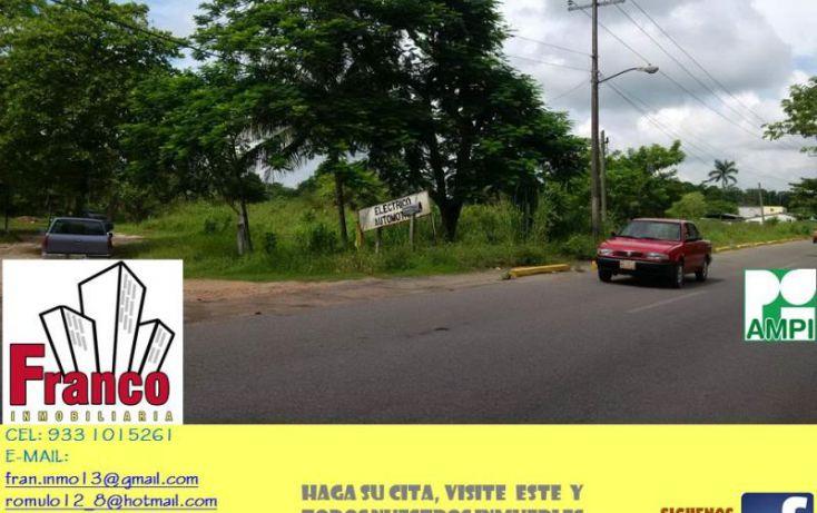 Foto de terreno comercial en venta en carretera rió seco, la chonita, cunduacán, tabasco, 1535136 no 05