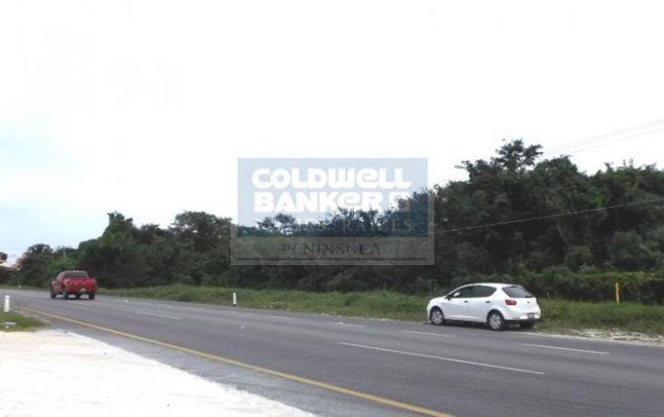 Foto de terreno habitacional en venta en carretera riviera maya, luis donaldo colosio, solidaridad, quintana roo, 348114 no 01