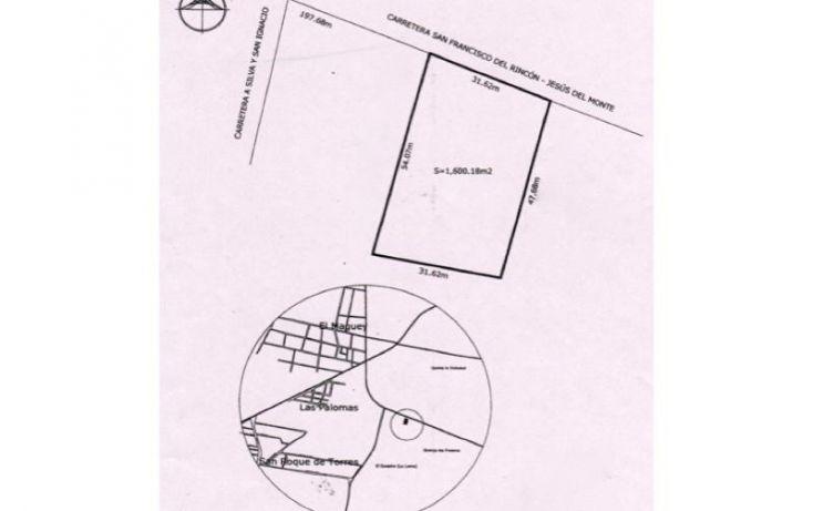 Foto de terreno comercial en venta en carretera san francisco del rinconjesus del monte, el maguey, san francisco del rincón, guanajuato, 1476255 no 01