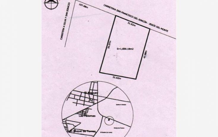 Foto de terreno comercial en venta en carretera san francisco del rinconjesus del monte, el maguey, san francisco del rincón, guanajuato, 1476255 no 15