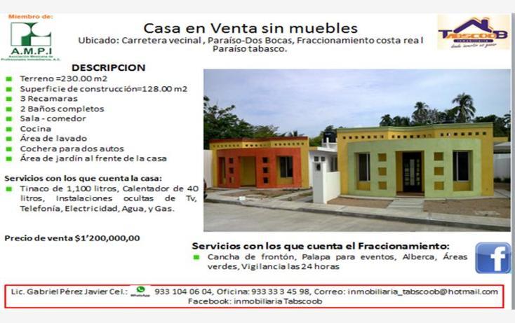 Casa en carretera vecinal paraiso a d costa real en - Venta de apartamentos en la costa ...