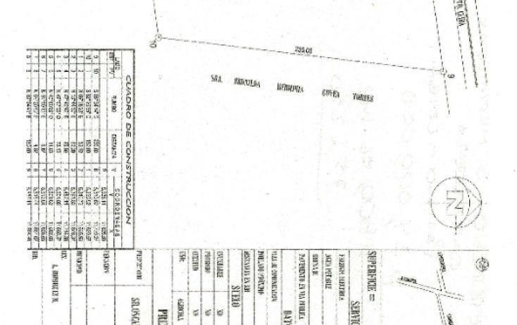 Foto de terreno comercial en venta en, carrizal puerto ceiba, paraíso, tabasco, 1096235 no 03