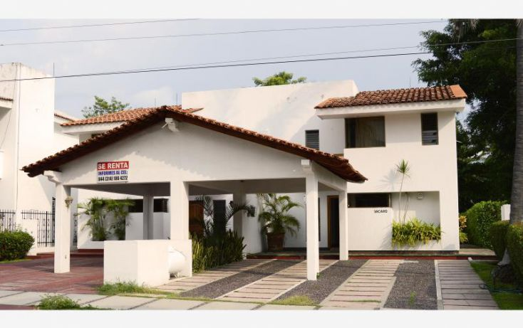 Foto de casa en renta en carrizales, club santiago, manzanillo, colima, 1402557 no 01