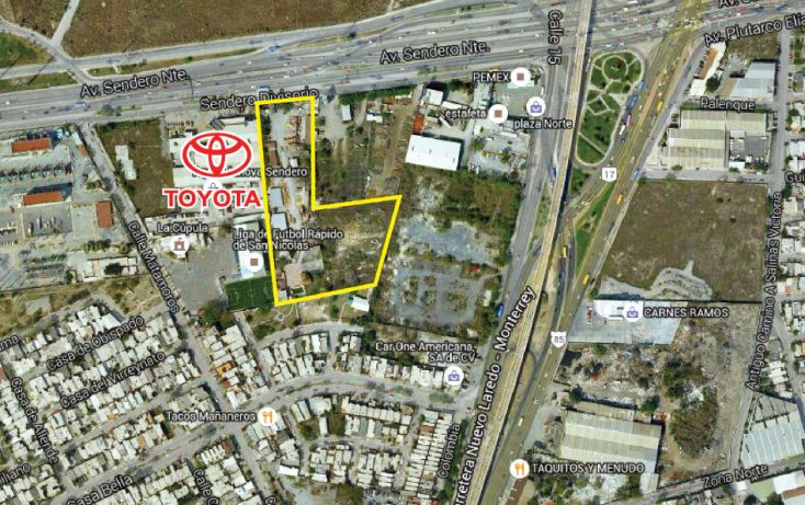 Foto de terreno comercial en venta en, casa bella sector 1, san nicolás de los garza, nuevo león, 1126491 no 01