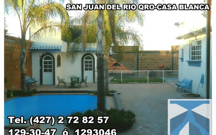 Foto de casa en venta en  , casa blanca, san juan del río, querétaro, 1278687 No. 01