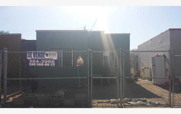 Foto de casa en venta en  , casa digna, mexicali, baja california, 1825082 No. 01