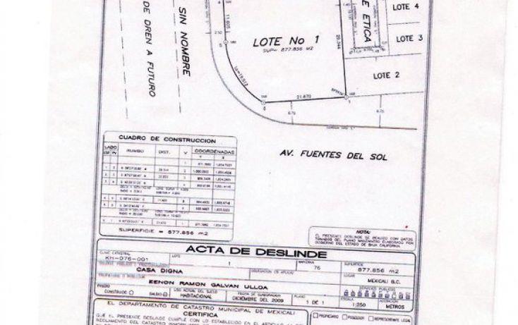 Foto de terreno habitacional en venta en, casa digna, mexicali, baja california norte, 1468689 no 03