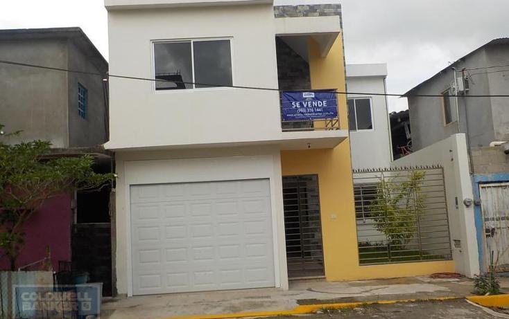 Foto de casa en venta en casa en venta en calle oscar pérez dueñas fraccionamiento espinoza galindo , la parrilla 1a secc, centro, tabasco, 1690494 No. 01
