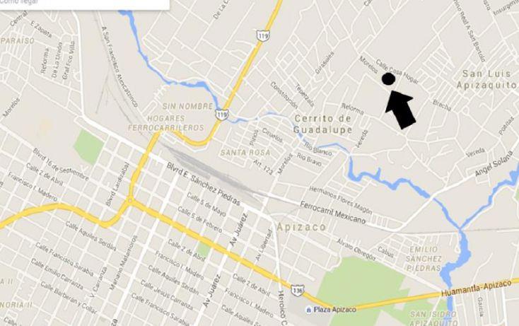 Foto de terreno habitacional en venta en casa hogar, cerrito de guadalupe, apizaco, tlaxcala, 1224969 no 05