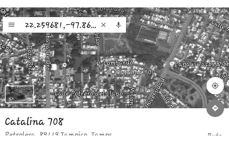 Foto de terreno habitacional en venta en catalina rtv1825 701, petrolera, tampico, tamaulipas, 2651870 No. 05