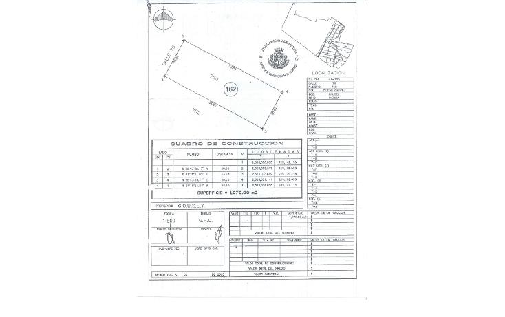 Foto de terreno comercial en venta en  , caucel, mérida, yucatán, 1069883 No. 02