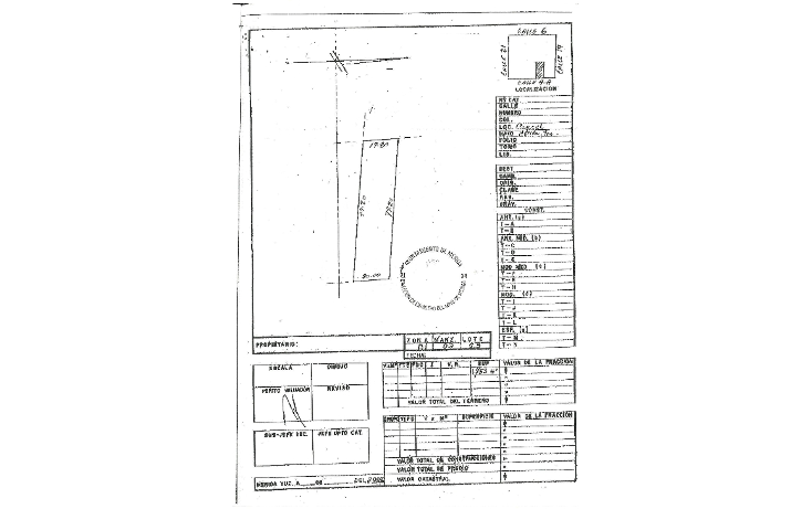 Foto de terreno habitacional en venta en  , caucel, mérida, yucatán, 1088081 No. 04