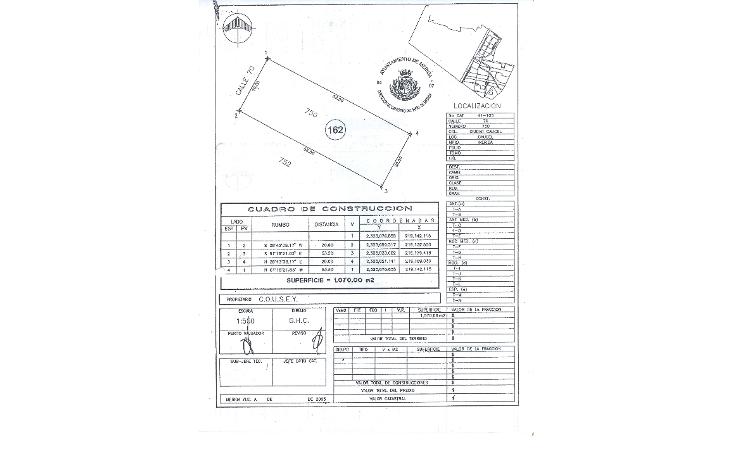 Foto de terreno comercial en venta en  , caucel, mérida, yucatán, 1249927 No. 01