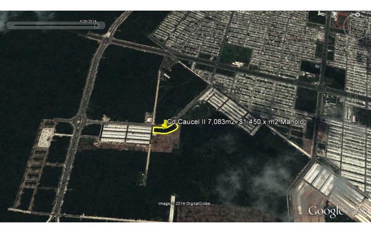 Foto de terreno comercial en venta en  , caucel, mérida, yucatán, 1274391 No. 01