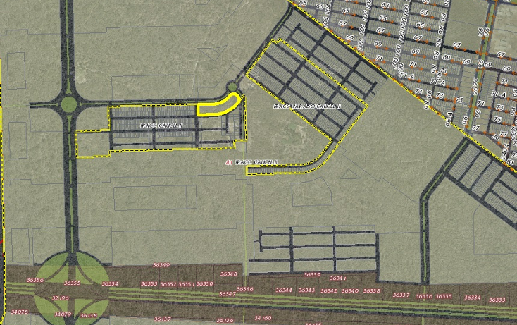 Foto de terreno comercial en venta en  , caucel, mérida, yucatán, 1274391 No. 02