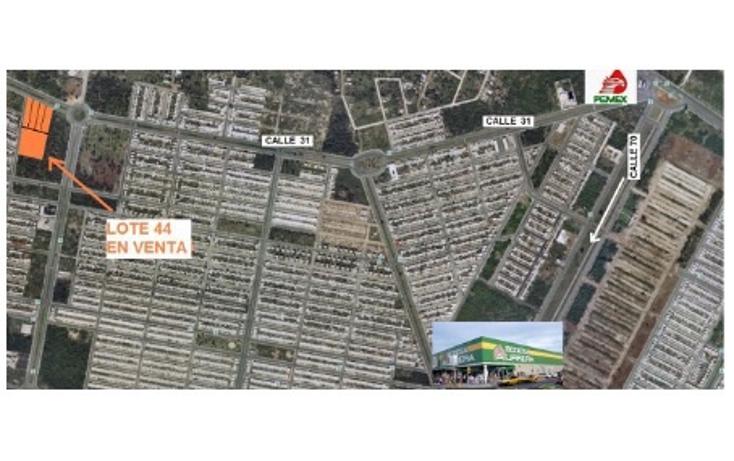 Foto de terreno comercial en venta en  , caucel, mérida, yucatán, 1406899 No. 02