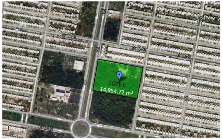 Foto de terreno habitacional en venta en  , caucel, mérida, yucatán, 1435509 No. 01