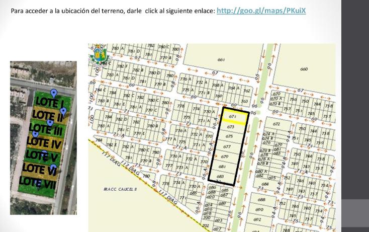 Foto de terreno habitacional en venta en  , caucel, mérida, yucatán, 1514840 No. 02