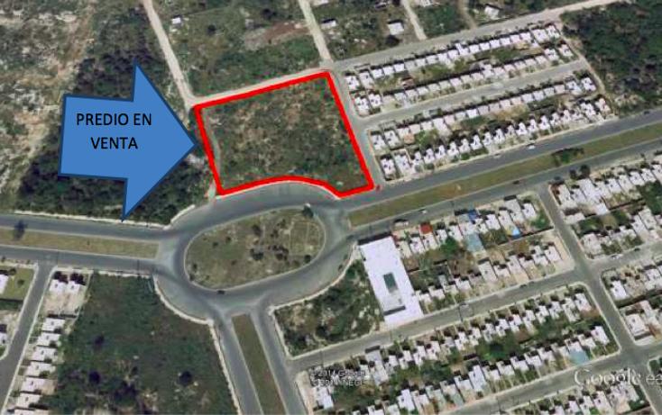 Foto de terreno habitacional en venta en  , caucel, mérida, yucatán, 1639656 No. 01