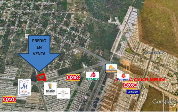 Foto de terreno habitacional en venta en  , caucel, mérida, yucatán, 1639656 No. 02