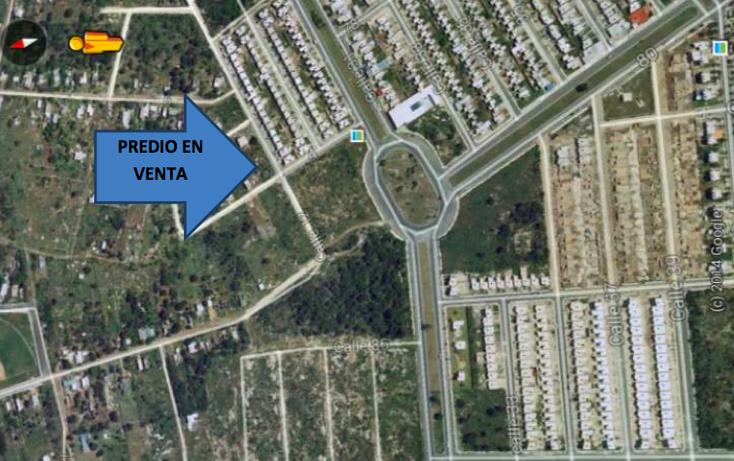 Foto de terreno habitacional en venta en  , caucel, mérida, yucatán, 1639656 No. 03