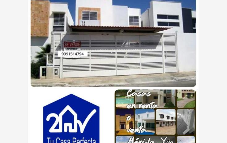 Foto de casa en venta en  , caucel, m?rida, yucat?n, 1901742 No. 01
