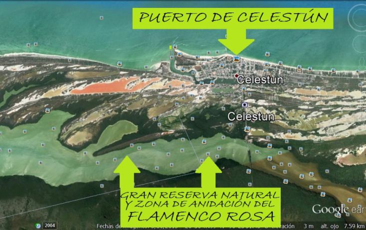 Foto de terreno comercial en venta en, celestun, celestún, yucatán, 1059545 no 02