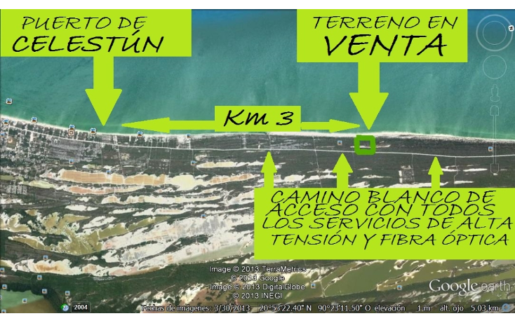 Foto de terreno comercial en venta en  , celestun, celestún, yucatán, 1059545 No. 03