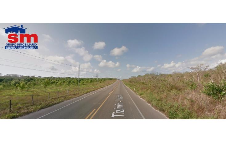 Foto de terreno habitacional en venta en  , cenote azul, tizimín, yucatán, 1460273 No. 02