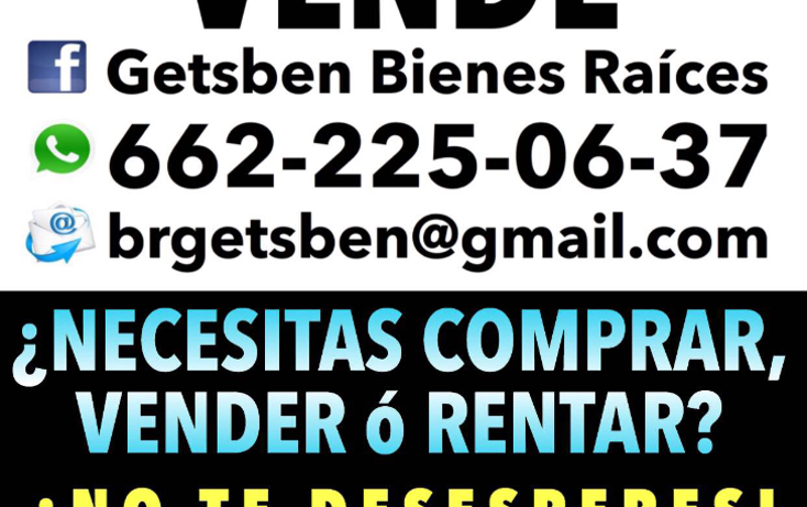 Foto de casa en venta en  , centenario, hermosillo, sonora, 1576672 No. 01