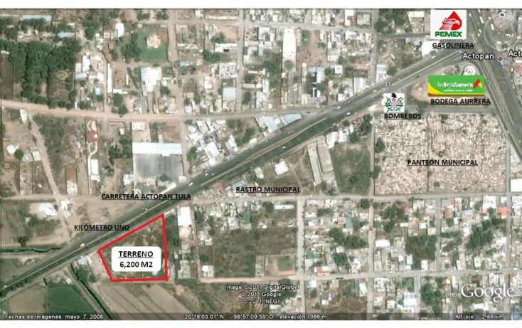 Foto de terreno comercial en venta en, central de abasto, actopan, hidalgo, 1089155 no 04