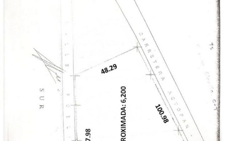 Foto de terreno comercial en venta en, central de abasto, actopan, hidalgo, 1089155 no 05