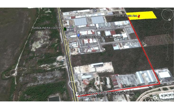 Foto de terreno comercial en venta en  , central de abasto, benito juárez, quintana roo, 1503179 No. 02