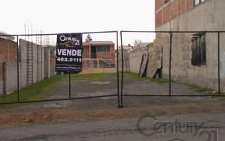 Foto de terreno habitacional en venta en  , centro, apizaco, tlaxcala, 1800072 No. 01