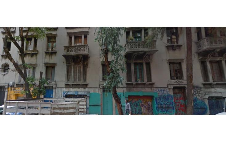 Foto de terreno habitacional en venta en  , centro (área 1), cuauhtémoc, distrito federal, 1059499 No. 01
