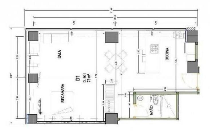 Foto de departamento en venta en  , centro (área 9), cuauhtémoc, distrito federal, 1174683 No. 07