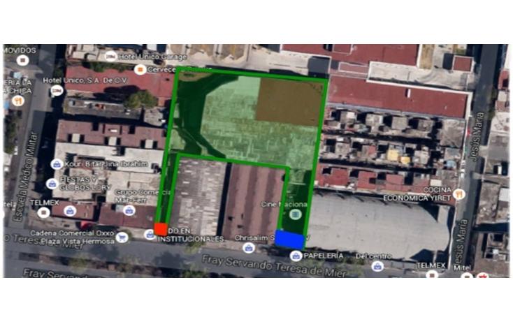 Foto de terreno habitacional en venta en  , centro (?rea 9), cuauht?moc, distrito federal, 2020249 No. 01
