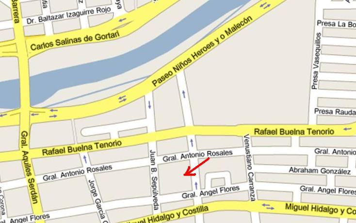 Foto de terreno comercial en venta en  , centro, culiacán, sinaloa, 1066075 No. 03