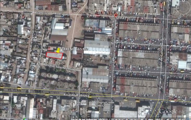 Foto de terreno comercial en venta en, centro de abastos, san luis potosí, san luis potosí, 1610298 no 01