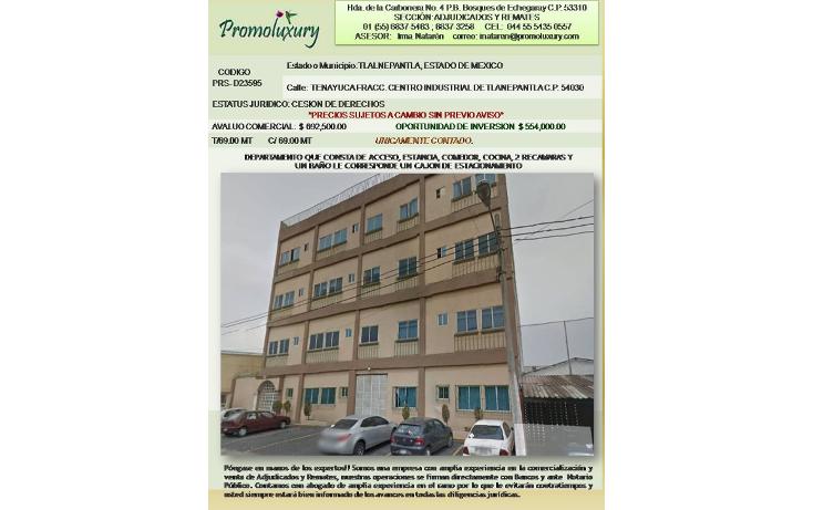 Foto de departamento en venta en  , centro industrial tlalnepantla, tlalnepantla de baz, méxico, 1499289 No. 03