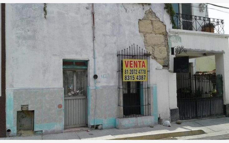 Foto de terreno habitacional en venta en  , centro, monterrey, nuevo león, 2663044 No. 01
