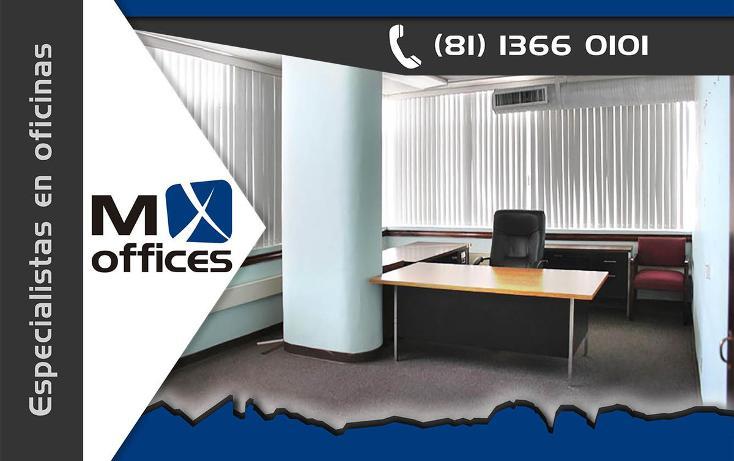 Foto de oficina en renta en  , centro, monterrey, nuevo león, 746841 No. 01