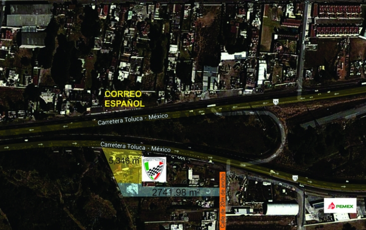 Foto de terreno habitacional en venta en, centro ocoyoacac, ocoyoacac, estado de méxico, 524641 no 04