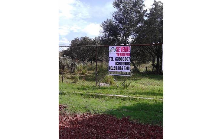 Foto de terreno habitacional en venta en  , centro ocoyoacac, ocoyoacac, méxico, 564043 No. 04