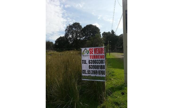 Foto de terreno habitacional en venta en  , centro ocoyoacac, ocoyoacac, méxico, 564043 No. 05