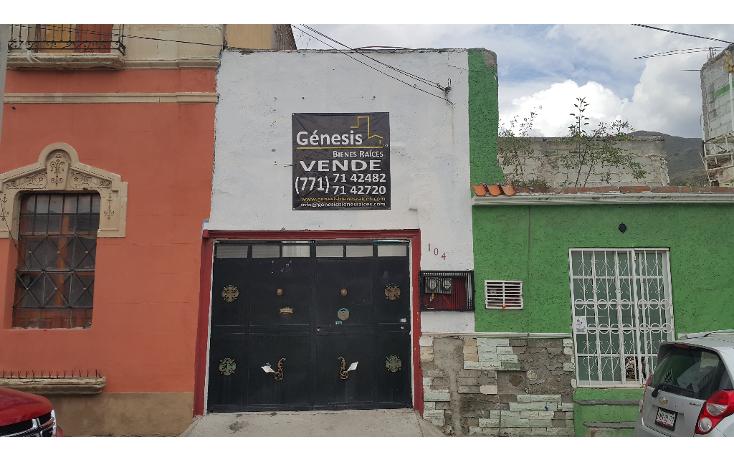 Foto de casa en venta en  , centro, pachuca de soto, hidalgo, 1430903 No. 01