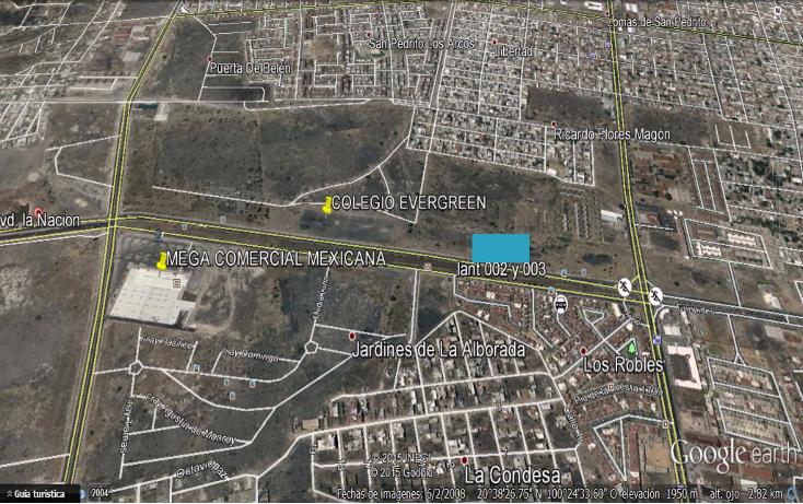 Foto de terreno comercial en venta en  , centro, quer?taro, quer?taro, 1099671 No. 01